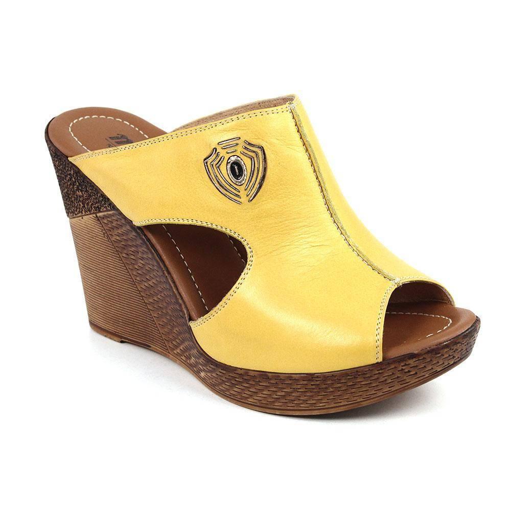 5b484d409 Женские сабо Tofa 113449-5, цвет: желтый - купить по цене 5 990 руб ...