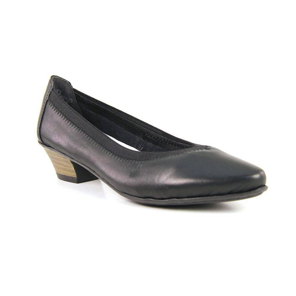 3e2209e78 Женские туфли Rieker 58061/00, цвет: черный - купить по цене 4 290 ...
